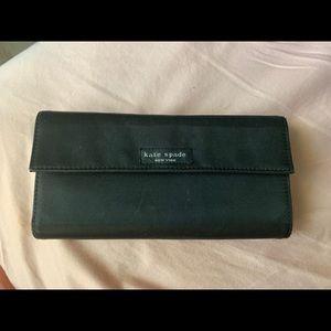 Vintage Black Kate Spade Wallet